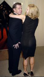 Felicity Huffman - See-thru dress to thong