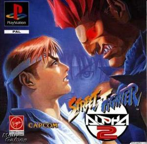 Street Fighter Alpha 2 Psx