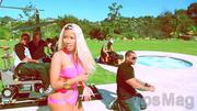 Nicki Minaj 18 nip slip wardrobe malfunction video clip