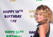 *HQ ADDS* Taylor Spreitler Celebrates Her 18th Birthday at Crimson in Hollywood 10/21/11