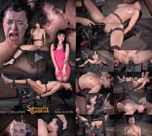 SEXUALLY BROKEN:Feb 16, 2015 | Mia Austin | Matt Williams | Jack Hammer