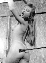 with a video Spanked riding crop