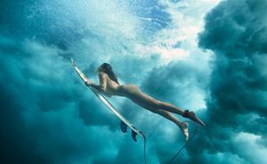 Майя Gabeira, фото 14. Maya Gabeira ESPN The Magazine's Body Issue 2012 - Nude Surfing, foto 14